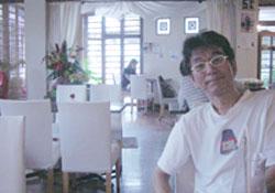 フラカフェでドンタニシ.jpg